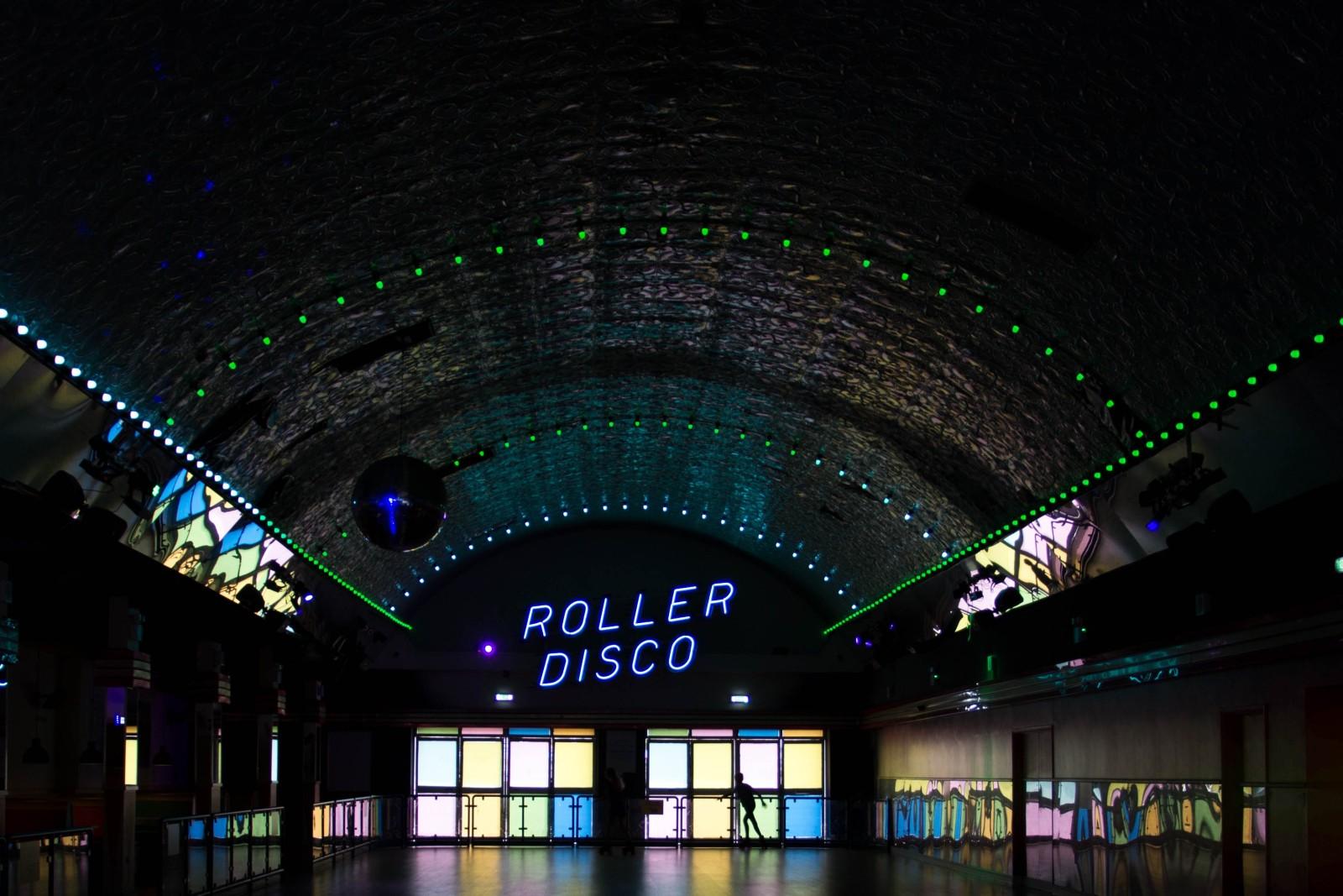 Hobbyraum, mit Disco